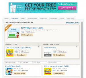 Swagbucks - Special Offers